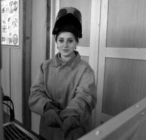 Віталіна Смерека - учениця ІІ курсу з професії «Електрогазозварник»